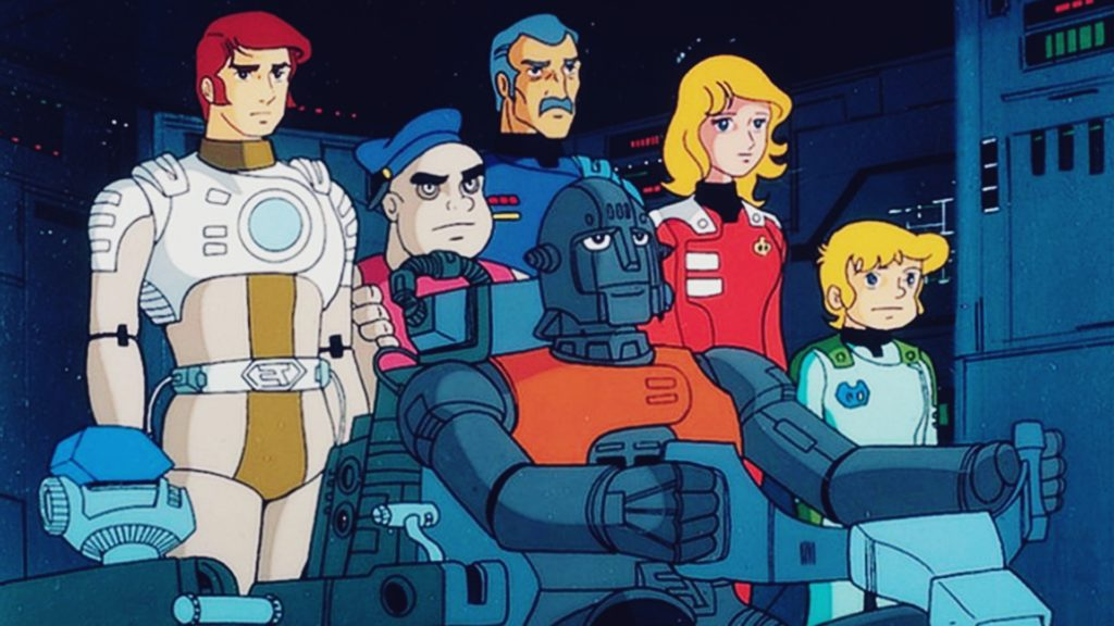 Captain Future Crew - Cult Anime Serie aus den 80ern
