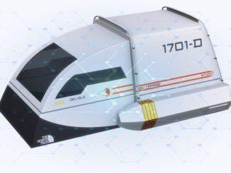 Star Trek Enterprise Shuttle Zelt - Designed für Trekkies und Geeks- dave-delisle camping zelt outdoor