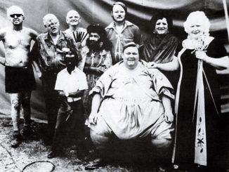 Bill Durks Mann mit 3 Augen 2 Nasen Freak Show Artist Zirkustruppe Freakshow Künstler