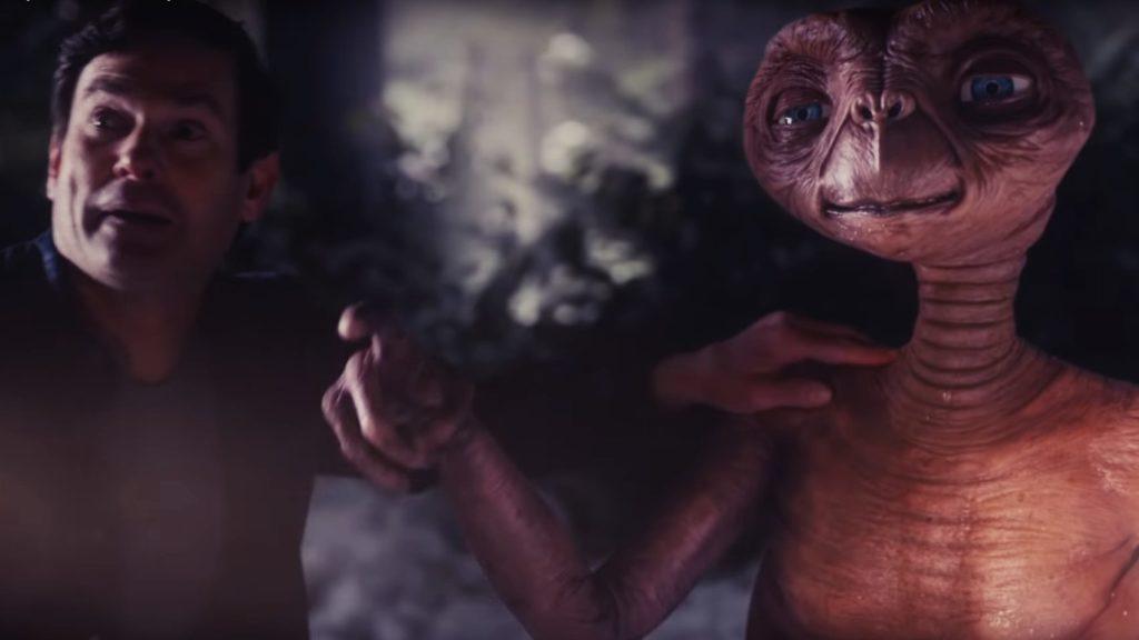 Lange mussten Fans darauf warten aber nun ist er wieder zurück. E.T. der Ausserirdische gibt sich zu Weihnachten die Ehre
