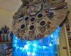 Lego Millennium Falcon mit Schubstrahl von Jason V Joiner